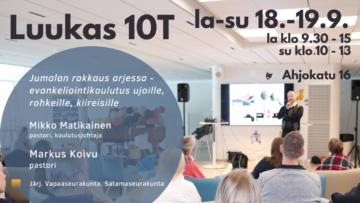 Luukas 10T -koulutus @ Vapaakirkko